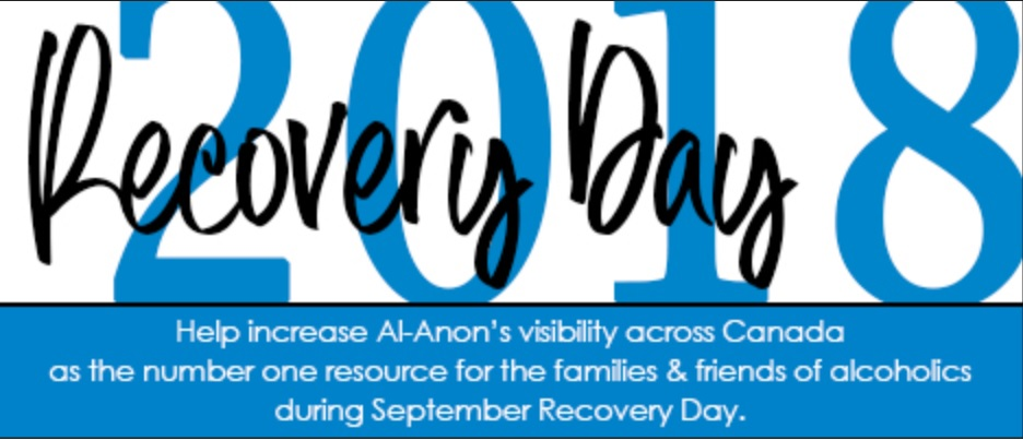 September 2018 Recovery Day